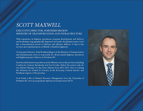 Speaker Luncheon - Scott Maxwell, Ministry Of Transportation @ Pomeroy Hotel and Conference Center