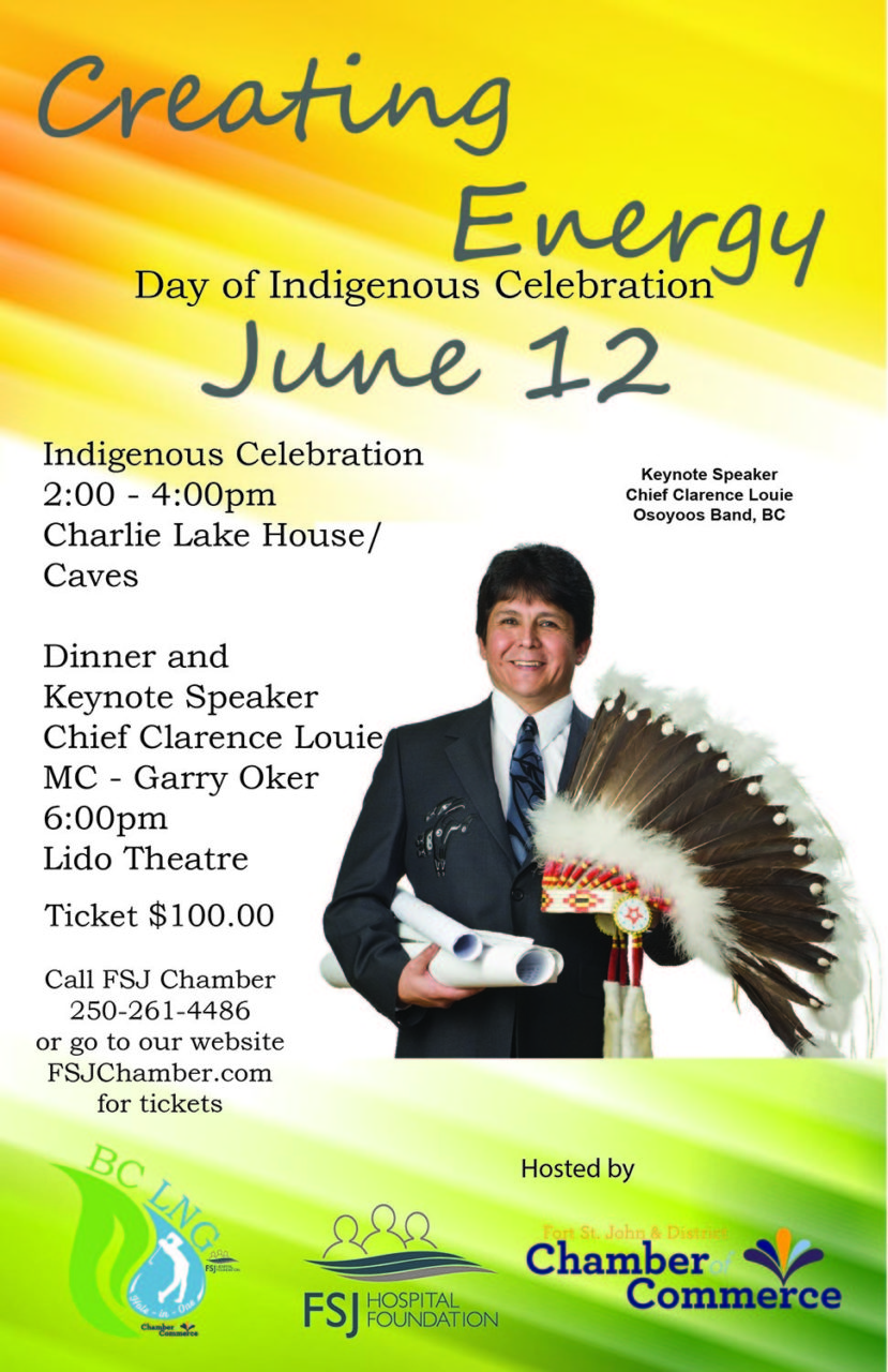 Creating Energy - Dinner w/ Chief Louie @ Lido Theatre