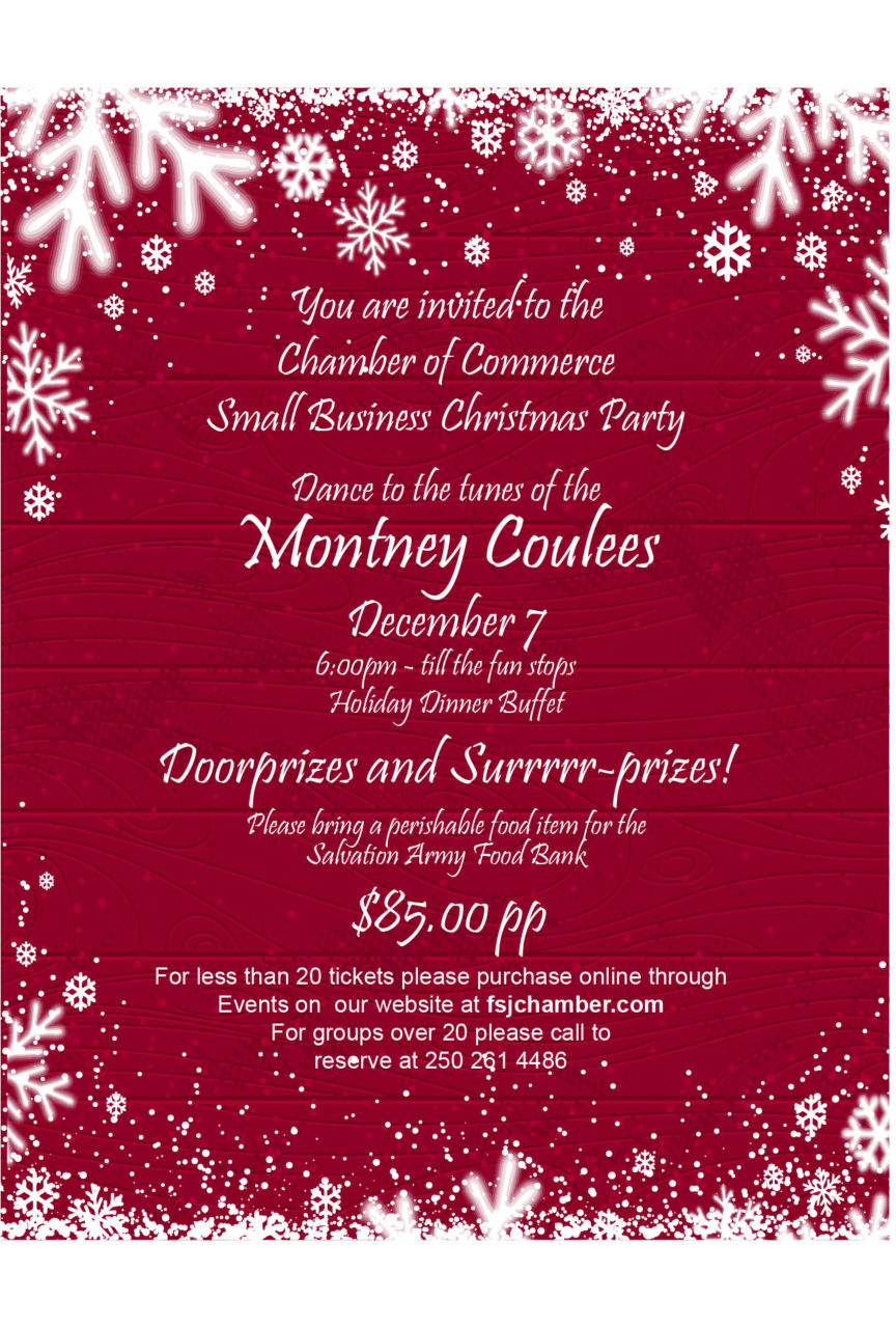 Chamber Business Christmas Party @ Pomeroy Hotel and Conference Center