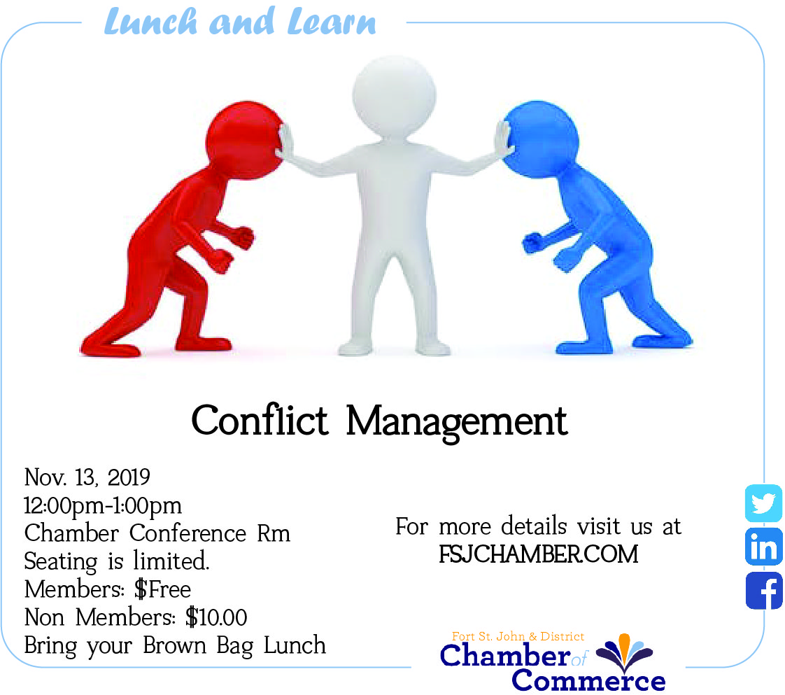 Lunch and Learn - Conflict Resolution @ Chamber Conference Room