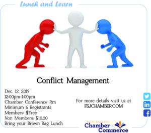Lunch and Learn - Conflict Management @ Chamber Conference Room