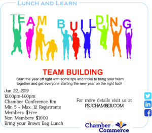 Lunch and Learn - Team Building @ Chamber Conference Room