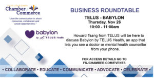 Business Roundtable - BABYLON - TELUS @ Virtual
