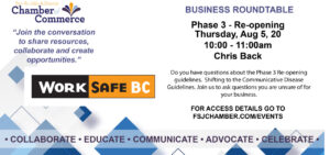 Business Roundtable - WorkSafeBC @ Virtual